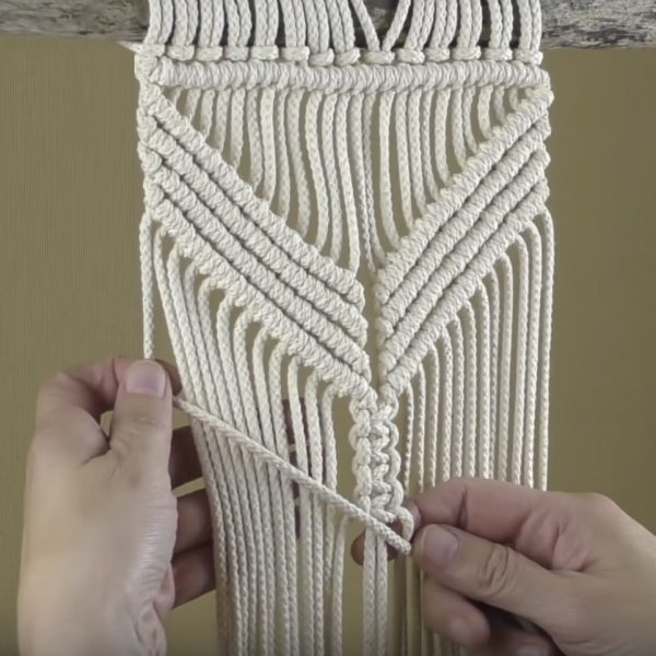 Dây dệt se cotton 100% làm macrame