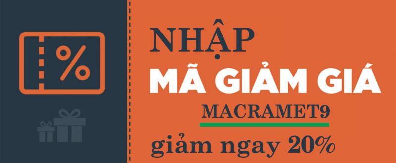 Mã giảm giá macrame vietnam