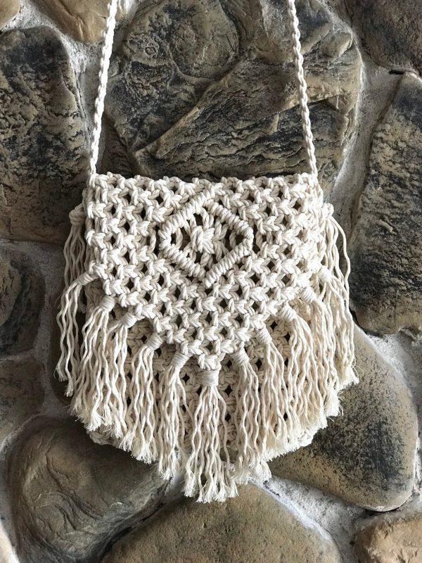Túi xách macrame XM01 thuộc danh mục túi xách macrame (macrame bag Tphcm, Phú Quốc, Đà Nẵng