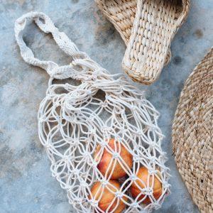 Macrame bag - Giỏ xách đựng trái cây macrame XM02 tại Đà Nẵng, Phú Quốc