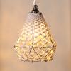 Đèn treo thả trần macrame LM01 lamp