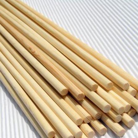 Thanh gỗ tròn dài 1m phi 15mm