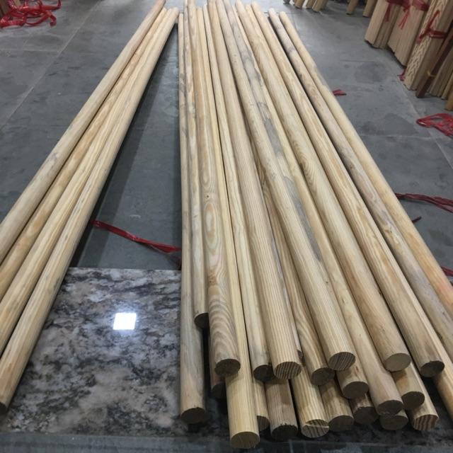 Thanh gỗ tròn 2m đường kính 2cm làm lều vải