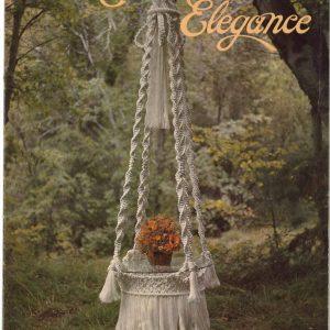 Ebook - Sách hướng dẫn thắt 20 sản phẩm macrame: Macrame Elegance 1